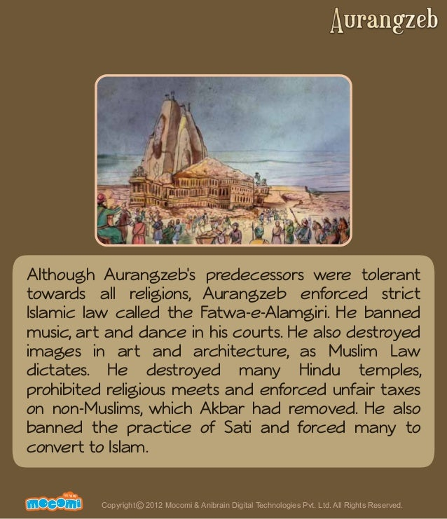 Aurangzeb - The Mughal Emperor - History India – Mocomi.com