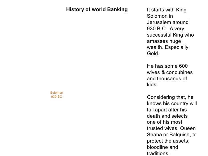 The History of Banking  Slide 3
