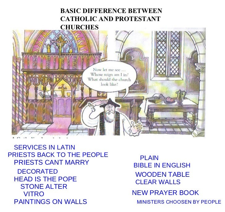 compare and contrast roman catholic church baptist church It is also the key difference between lutheranism and catholicism according to martin luther the roman catholic church has established seven sacraments: baptism compare and contrast lutheranism and catholicism lutheranism beliefs.