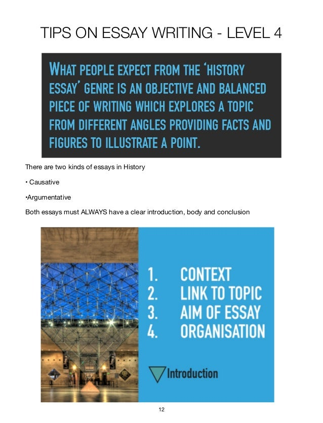 model a level history essays How to write a great essay for different a-level subjects in previous articles a good history essay makes connections between what's been written.