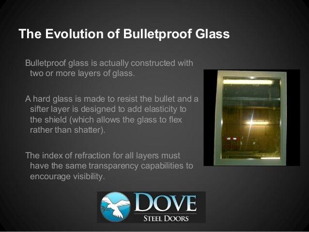 Benedictus Bullet Proof Glass
