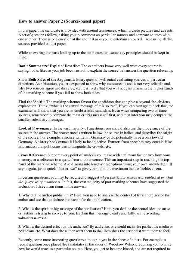 history cie exam tips