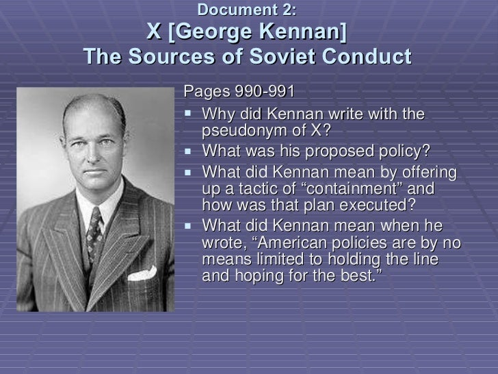 george kennan prompt Get information, facts, and pictures about george kennan at encyclopediacom make research projects and school reports about george kennan easy with credible.