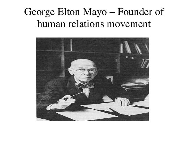 """human relation approach by frederick taylor and by elton mayo Scientific management and human relations approaches in 21st century   according to fredrick winslow taylor: """"scientific management means  needs""""  developed by abraham maslow: hierarchy of needs source: maslow, a h ,  1943."""