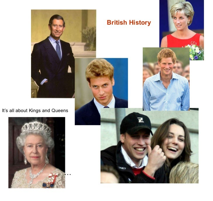 … British History It's all about Kings and Queens