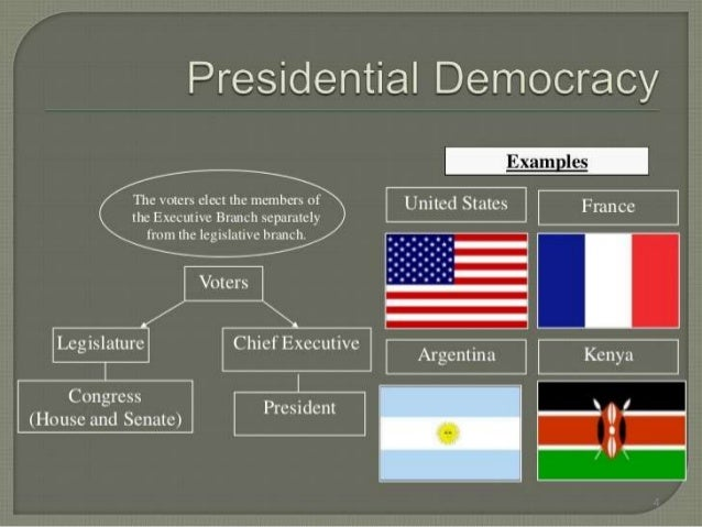 Comparision On Parliamentary And Presidential Form Of Government With