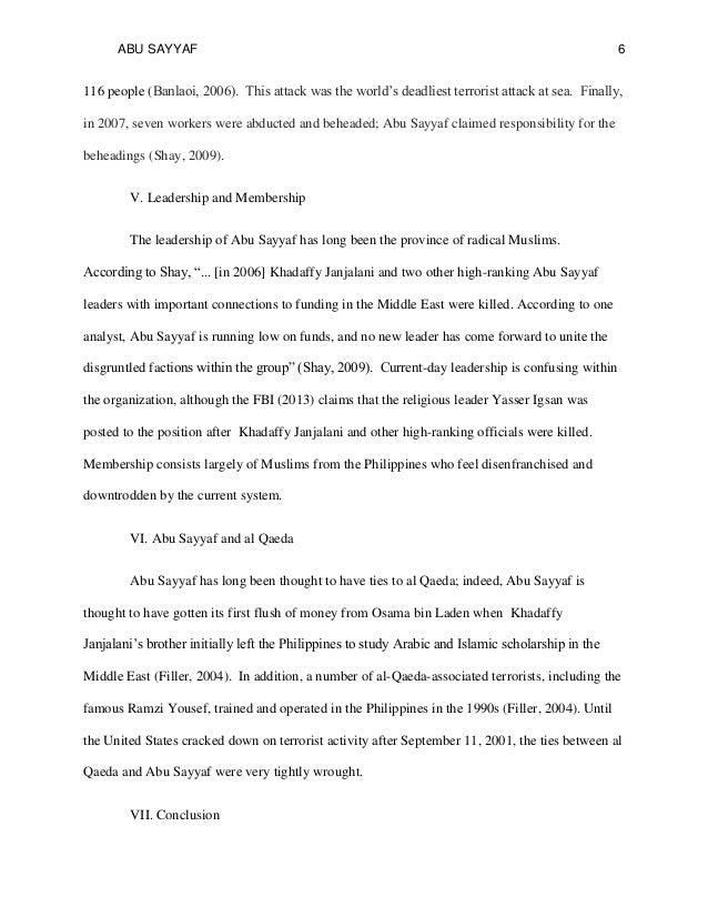 Sample history essay