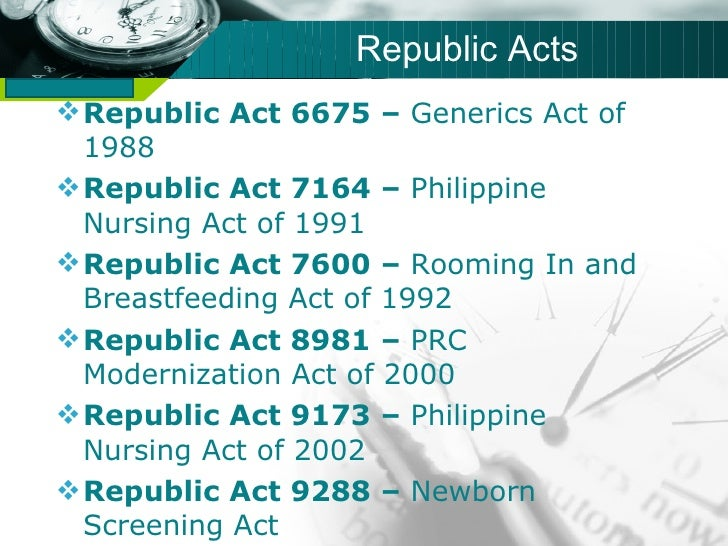difference of republic act 7164 and 9173 Congress of the philippines metro manila eighth congress republic act no 7164 november 21, 1991 an act regulating the.