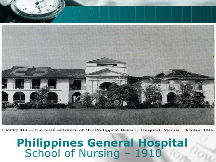history of nursing in the philippine Contains slide images of the history of nursing.