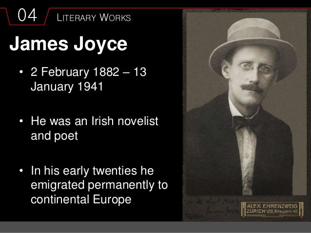 different generations in dubliners by james joyce essay Dubliners james joyce wrote the book dubliners joyce expresses several different types of emotions through the publication the emotions portray individuals in society, and light and dark the emotions of people are analyzed throughout the stories by others in society.