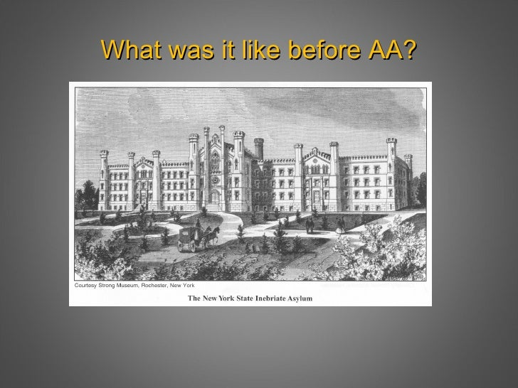 The History of AA