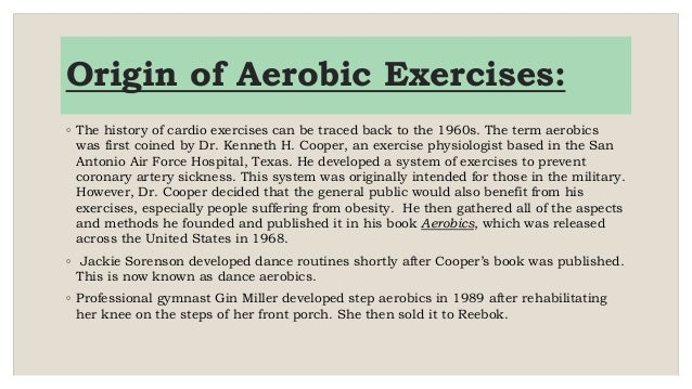 history of aerobics The history of step aerobics how did step begin gin miller is credited for laying the foundation for step aerobics and is considered to be the creator of step.