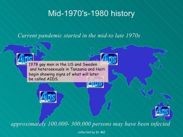 history of HIV Slide 2