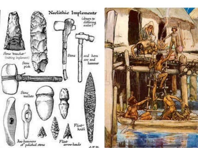 how to draw early man tools