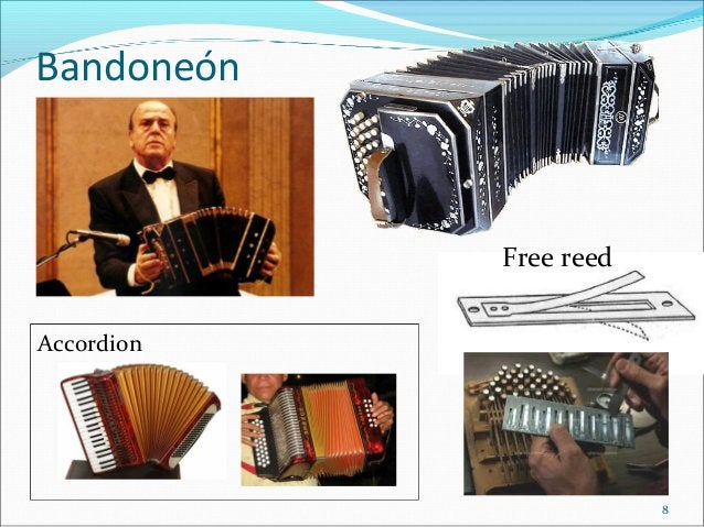 Bandoneón  Free reed Accordion  8