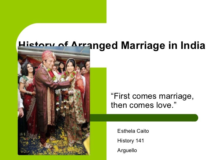 arranged marriage in india 1 One thing that has always been held high by india like a shining trophy is its  institution of arrange marriage and customs that believe in tethering two people.