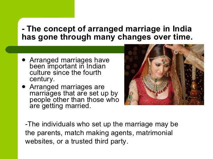 history of arranged marriages