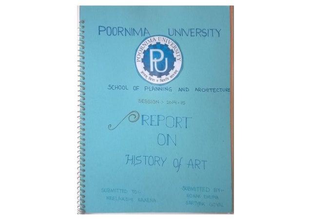 History of art by ronak dhupia