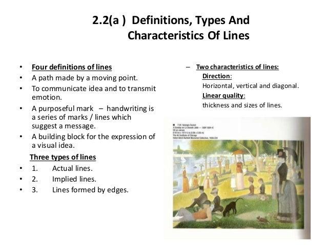 Types Of Lines In Design : History of art n design week