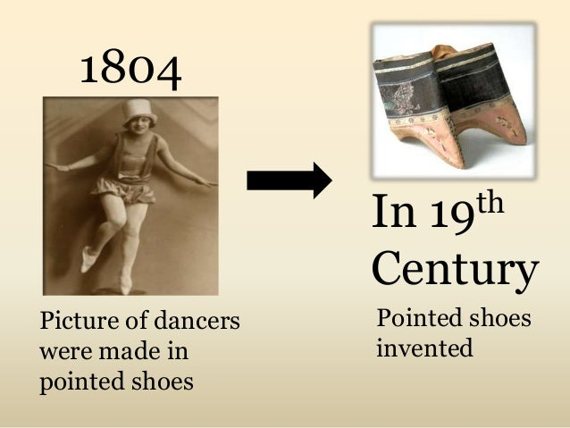 History of Ballet Shoes