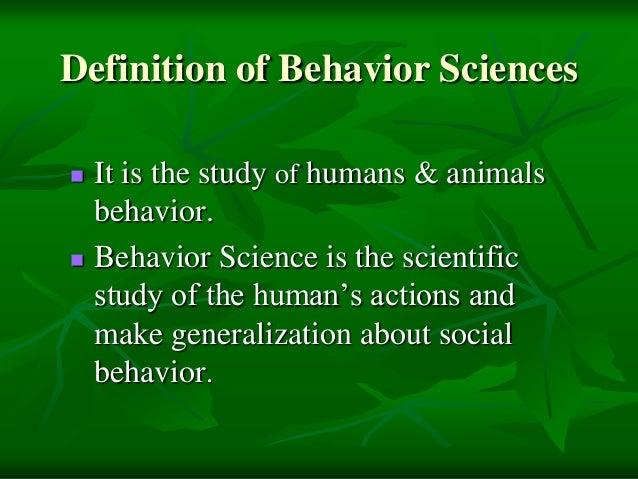 History of behavior sciences by Ali Hussnain