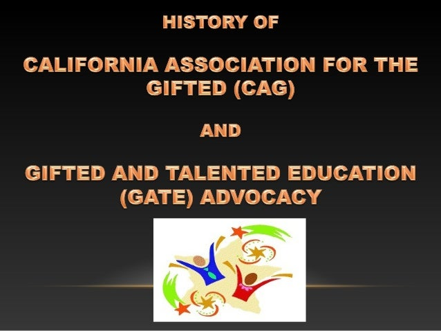 •gifted and talented •multiple identification criteria ...
