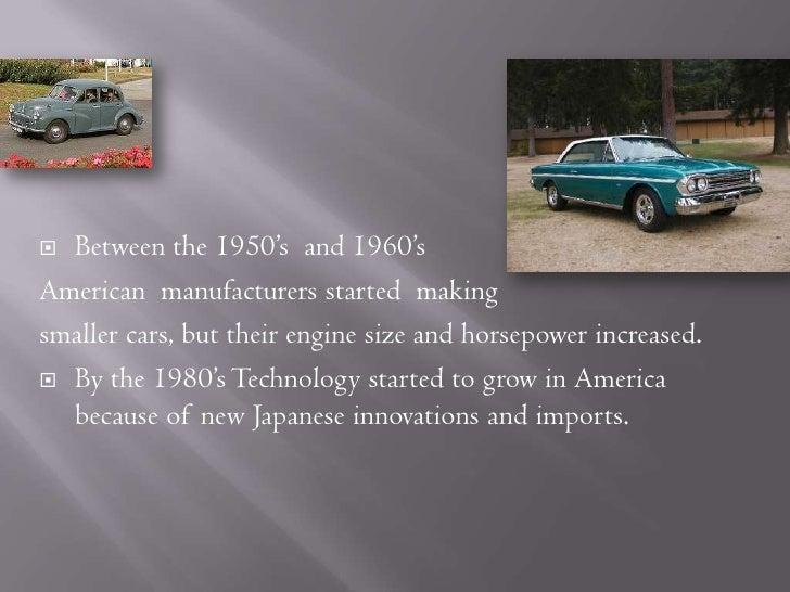 History Of Cars Presentation