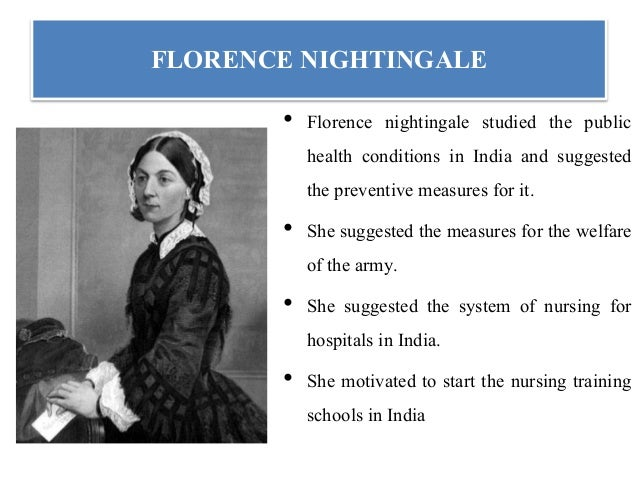Historical development of nursing timeline starting from florence nightingale