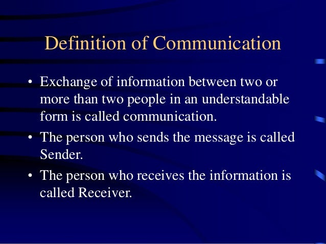 History of communication up to 1933