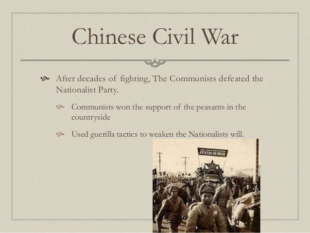 communists win chinese civil war What would china's history look like if chiang kai-shek had ignored  the  nationalists could have militarily defeated the communists under.