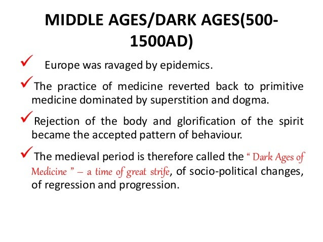 dark ages of nursing essay Nursing education the tools you need to write a quality essay or term middle ages the idea that the middle ages were dark ages has been.