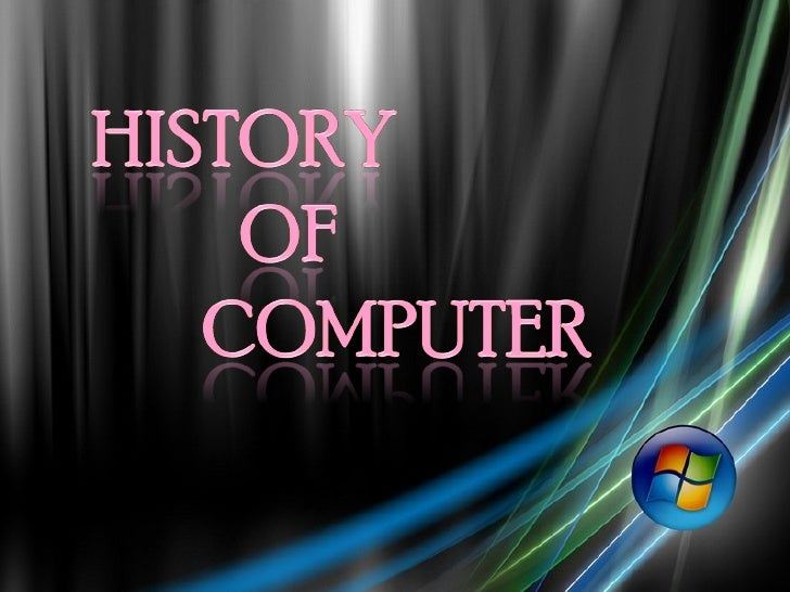 History of computer.