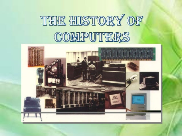 What is a computer?•A computer is an electronic machine that accepts information (Data), processes itaccording to specific...