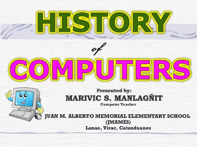 Computers history powerpoint youtube.