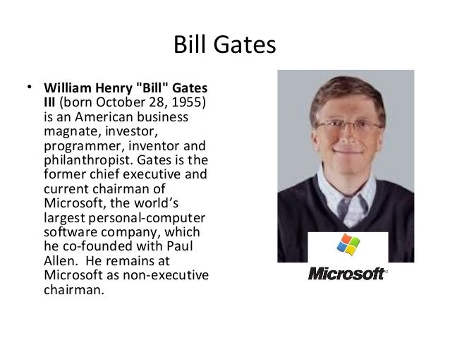 bill gates and steve jobs the founders of the computer era and technology Hailed as a visonary and a technological genius, steve jobs' death prompted  several  make it successful in the first decade, he also took it after a bad period,  and rebuilt it  statement from microsoft co-founder paul allen.