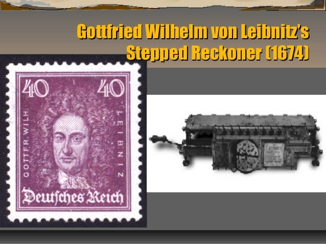a biography of gottfried wilhelm leibnitz Leibniz contributions to calculus leibniz and newton had very different views of calculus  encyclopedia of world biography, gottfried wilhelm von leibniz.