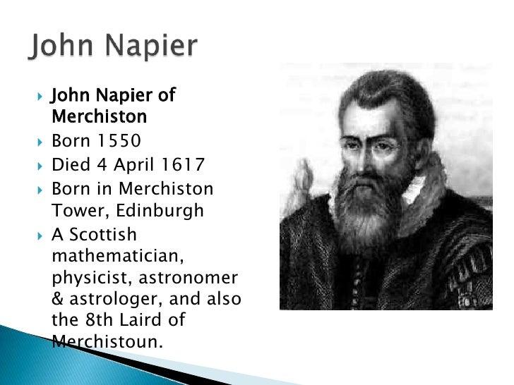 john napier education