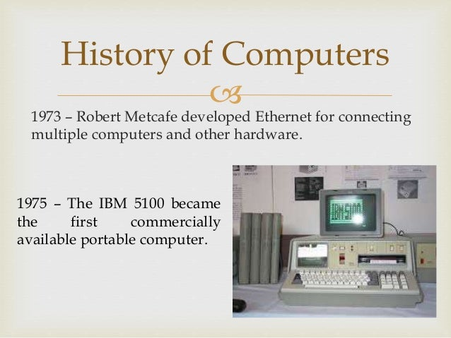 History of Computers 6