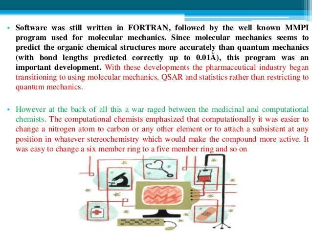 History of computers in pharmaceutical research & development