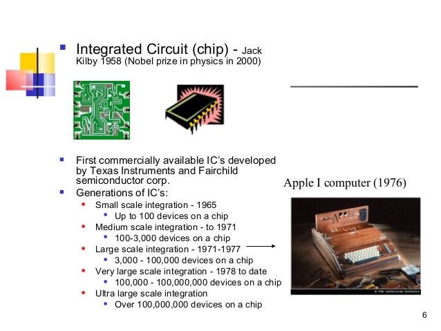 History of Computer Hardware