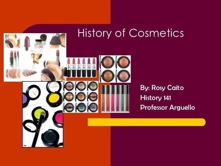 History of cosmetics