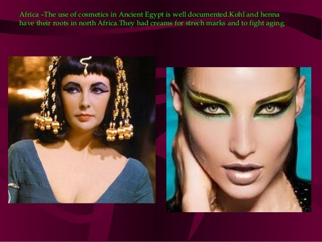 History of cosmetics and makeup