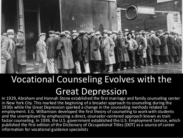 History of guidiance and counselling in