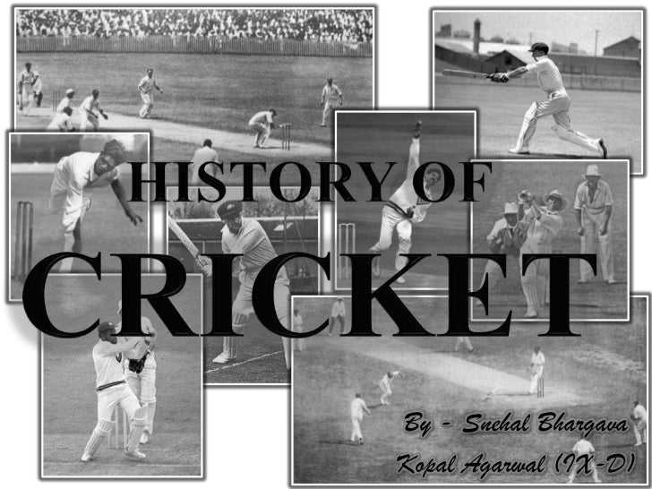History Of Cricket