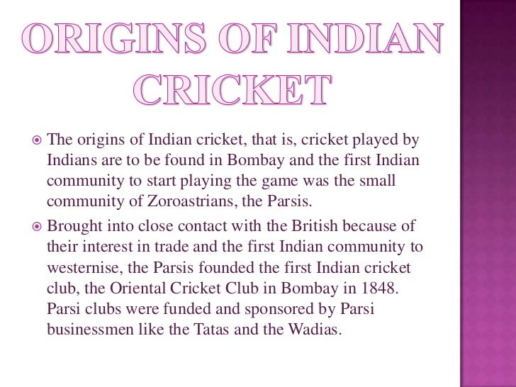 Essay history cricket ansures for introduction to business homework