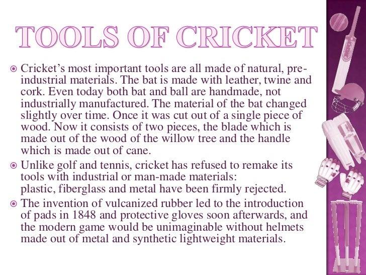 Cork Ball Cricket Bat: History Of Cricket