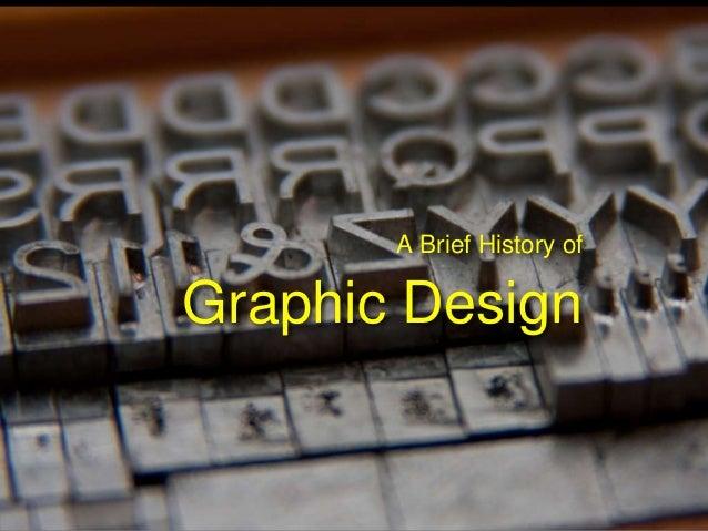 Slideshare History Of Graphic Design
