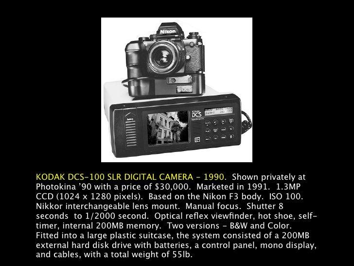 History of Digital Camera