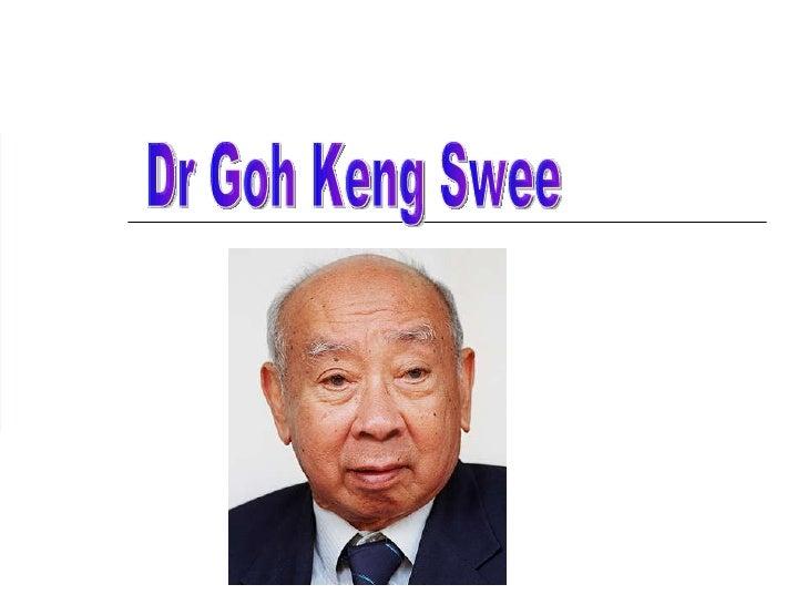 Dr Goh Keng Swee