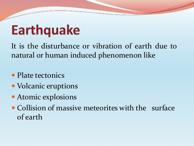 history of earthquakes in  earthquake